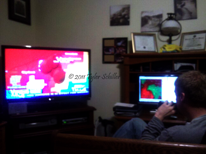 Storm Chasing Fever :: Chase Logs :: June 21, 2010 - Eagle