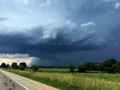 Wall Cloud - Montello, Wisconsin